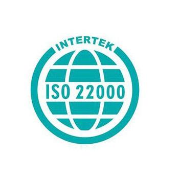 国际iso22000认证